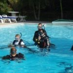 PADI IDC Thailand - Confined Water Training during IDC