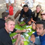 PADI IDC Thailand - Time for some food during the IDC