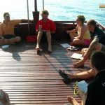 PADI IDC Vietnam - Course Director with Students