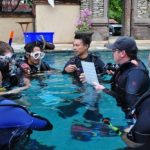 PADI IDC Bali - Confined water during the IE