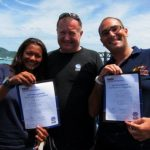 PADI IDC Thailand - Instructors passing the IE