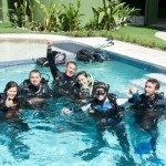 PADI IDC Students. IDC in Costa Rica - Caribbean