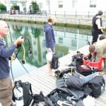 Dive prep  Preparation at Brighton Marina