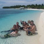 PADI IDC Phiippines. Time to relax inbetween free dives