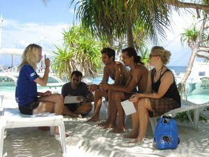 open-water-briefings-on-the-beach-philippines