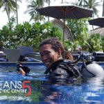 PADI Instructor Candidate Ari Gili Air